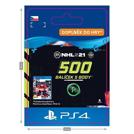 ESD CZ PS4 - NHL 21 – 500 Points Pack