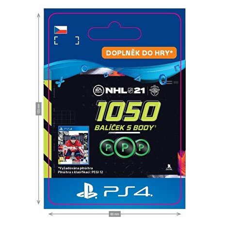 ESD CZ PS4 - NHL 21 – 1050 Points Pack