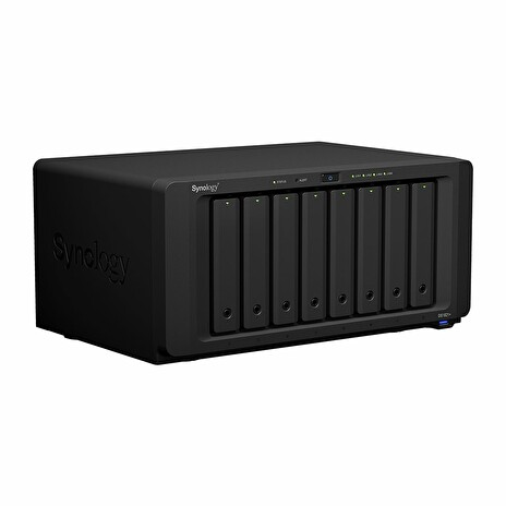 Synology DiskStation DS1821+, 8-bay NAS, CPU QC Atom C3538 64bit, RAM 4GB, 4x USB 3.0, 2x eSATA, 4x GLAN