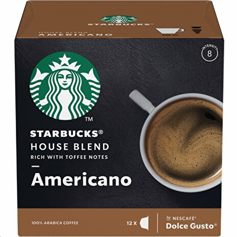 Kávové kapsle Nestlé Dolce Gusto Medium House Blend 12KS STARBUCKS