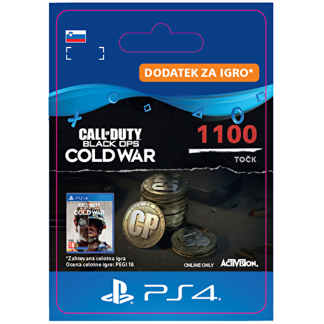 ESD SI - 1,100 Call of Duty®: Black Ops Cold War Points