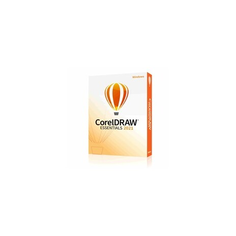 CorelDraw Essentials 2021 CZ/PL- BOX