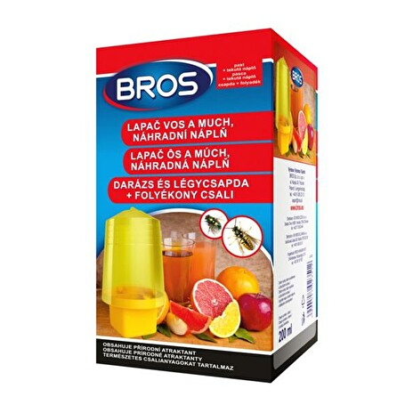 Lapač vos a much BROS 200 ml