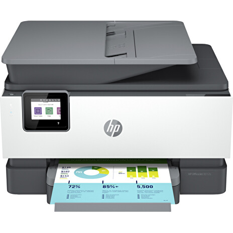 HP All-in-One Officejet Pro 9012e HP+ (A4, 22 ppm, USB 2.0, Ethernet, Wi-Fi, Print, Scan, Copy, FAX, Duplex, ADF)