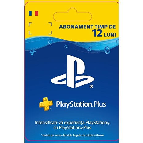 ESD RO - PlayStation® Plus: 12 Month Membership